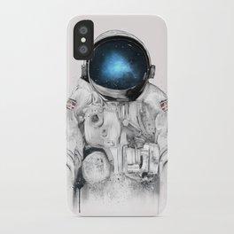 the astronaut iPhone Case