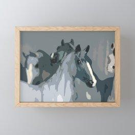 Herd of Horses  Framed Mini Art Print