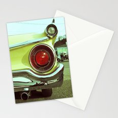 Classy taillight Stationery Cards