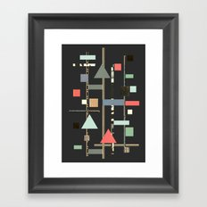 Abstract Aztec No. 1 Framed Art Print