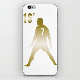 CR7 GOLD iPhone Skin