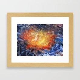 Visages Framed Art Print