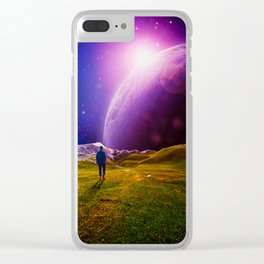Nowhere In Particular Clear iPhone Case
