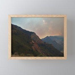 Fire on the Mountain Framed Mini Art Print