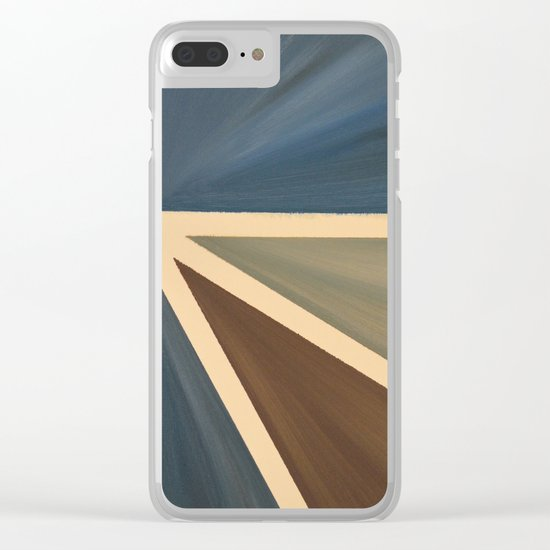 Left Clear iPhone Case