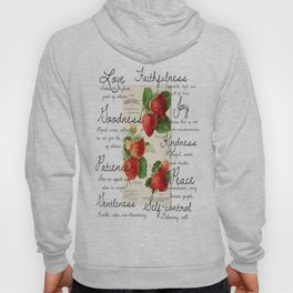 Strawberries and Fruit of the Spirit Explained  Hoody