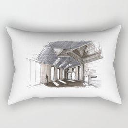 Brion Vega Cemetery - Carlo Scarpa Rectangular Pillow