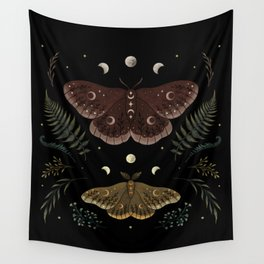 Saturnia Pavonia Wall Tapestry