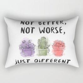 JUST DIFFERENT Rectangular Pillow