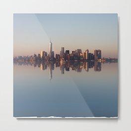 New York nightfall Metal Print