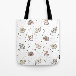 Kawaii cute cats Tote Bag