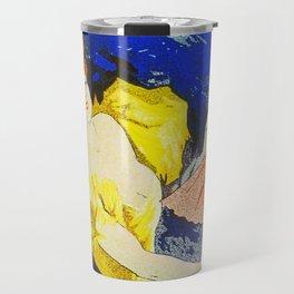 Jules Cheret Saxoleine Lamp Oil 1896 Travel Mug