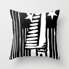Stand Ready Throw Pillow