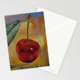 Vintage Cherry Stationery Cards