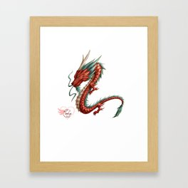Dragon pure Framed Art Print