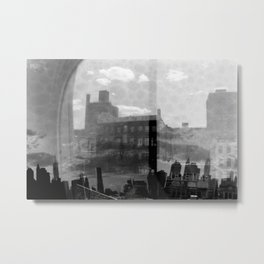New York Analog Metal Print