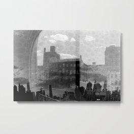 New York Analog Metal Print