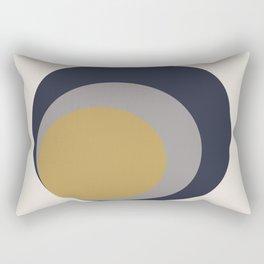 Inverted Circles Rectangular Pillow