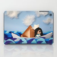 caleb troy iPad Cases featuring Troy Marinera ~ Sailor by Marivi Troy