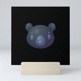 Bubble bear Mini Art Print