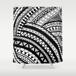 Makmåta Shower Curtain