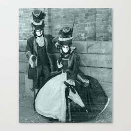 Il Carnevale. Canvas Print