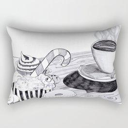 Sweet Coffee Rectangular Pillow
