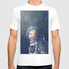 The Astronauta White MEDIUM Mens Fitted Tee