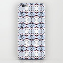 red Malus Radiant crab apple blossoms #7 pattern iPhone Skin