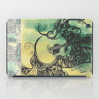 guitar iPad Cases featuring guitar by Joanne Chen
