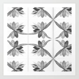 Nature Print Art Print