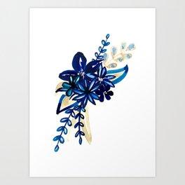 Syros Bouquet Art Print