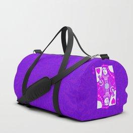 Queen of Crochet Duffle Bag
