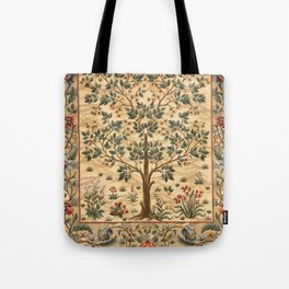 "William Morris ""Tree of life"" 3. Tote Bag"