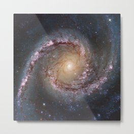 Intermediate Spiral Galaxy NGC 1566 Metal Print