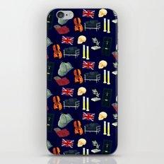 221B Baker Street version 2 iPhone & iPod Skin