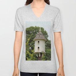 Fancy Bird House Unisex V-Neck
