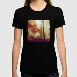 Dreamy Autumn Woodland T-shirt