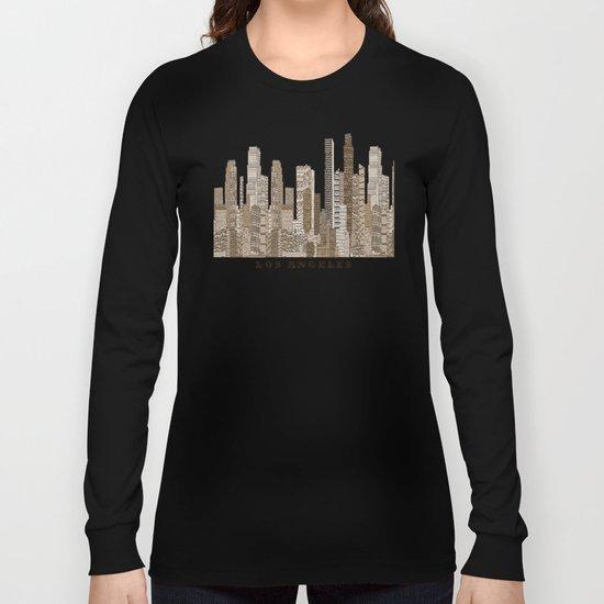 los angeles city Long Sleeve T-shirt