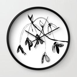 Acer rubrum var. drummondii Wall Clock