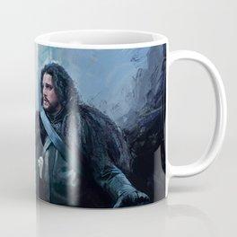 Dragon and Wolf Coffee Mug