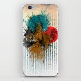 Trouble iPhone Skin