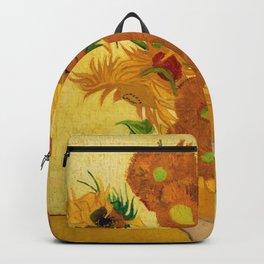 Sunflowers by Van Gogh Backpack
