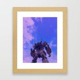 Gundam Wing Framed Art Print