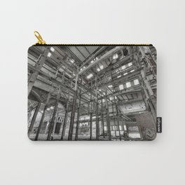 Metallic Structures Carry-All Pouch