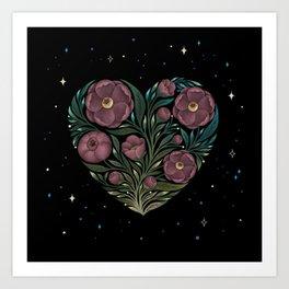Heartful of Love Art Print