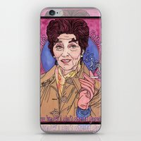 dot iPhone & iPod Skins featuring Dot by Easties Across the Pond