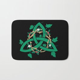 The Holly And The Ivy Bath Mat