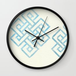 Endless and Eternal (cream) Wall Clock