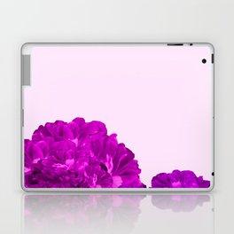 Purple Peonies On A Pink Background #decor #society6 #buyart Laptop & iPad Skin